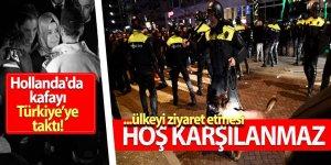 Hollanda hükümetinden Türkeş'e engel