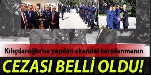 Kılıçdaroğlu'nun askeri törenle karşılanmasının faturası kesildi!