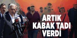 Başbakan Yıldırım'dan adalet yürüyüşüne tepki!