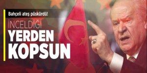 MHP Lideri Bahçeli: İnceldiği yerden kopsun