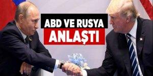ABD ve Rusya Suriye'de ateşkes için anlaştı
