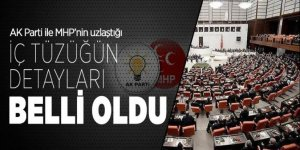 AK Parti ile MHP'nin uzlaştığı iç tüzüğün detayları belli oldu