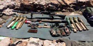 Siirt'te 1 terörist ve çok sayıda mühimmat yakalandı