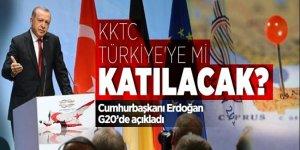 Cumhurbaşkanı Erdoğan'dan 'Kıbrıs' açıklaması!
