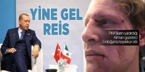 PKK'lıların saldırdığı Alman gazeteci Erdoğan'a teşekkür etti