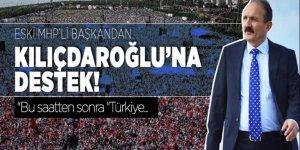 Muğla'nın Fethiye ilçesi Belediye Başkanı Behçet Saatci'den Kılıçdaroğlu'na destek