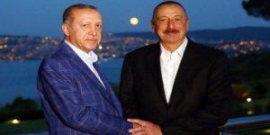 Cumhurbaşkanı Erdoğan, İlham Aliyev'i konuk etti