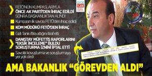 FETÖ kumpaslarıyla önce AK Parti'den ihraç edildi sonra Başkanlıktan alındı!