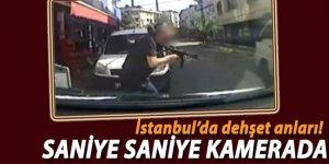 İstanbul'da dehşet anları! Saniye Saniye Kamerada