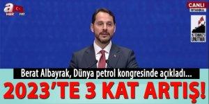 Berat Albayrak'tan Dünya Petrol Kongresi'nde önemli açıklama