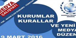 Anadolu Yayıncılar Derneği'den YSK - RTÜK'ü konulu çalıştay
