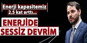 Bakan Albayrak: Türkiye enerjide sessiz bir devrim gerçekleştirdi