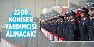 Emniyet Genel Müdürlüğü, 2200 komiser yardımcısı alınacağını duyurdu
