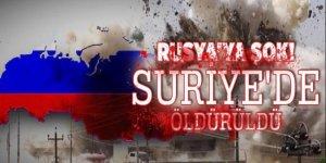 Rus Savunma Danışmanı Suriye'de öldürüldü