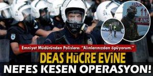Konya'daki DEAŞ hücre evine nefes kesen operasyon!