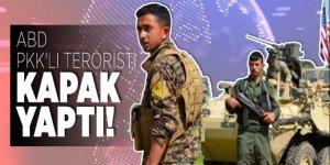 ABD, PKK'lı teröristi kapak yaptı