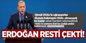 Erdoğan resti çekti!  'Kusura bakmayın OHAL' olmasaydı...