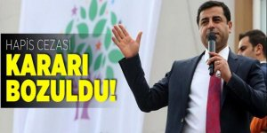 Selahattin Demirtaş'ın aldığı hapis cezası kararı bozuldu!