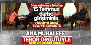 'Ana muhalefet terör örgütüyle birlikte hareket etmiştir'