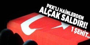 PKK'lı hainlerden alçak saldırı!