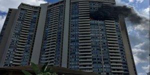 Dev binada yangın! Çok sayıda ölü ve yaralı var