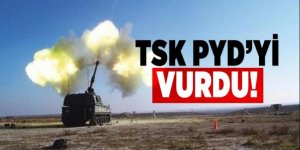 TSK, PYD mevzilerini vurdu
