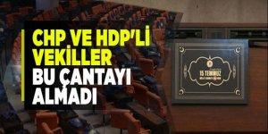 CHP ve HDP'li vekiller 15 Temmuz çantasını almadı