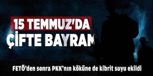 FETÖ'den sonra PKK'nın köküne de kibrit suyu ekildi