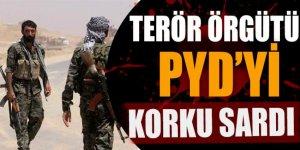 Terör örgütü PYD'yi korku sardı !