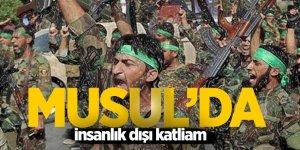 Musul'da insanlık dışı katliam