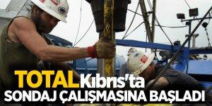 Total, Kıbrıs'ta sondaj çalışmasına başladı
