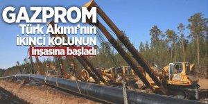 Gazprom, Türk Akımı'nın ikinci kolunun inşasına başladı