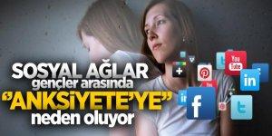 Sosyal ağlar gençler arasında 'anksiyete'ye neden oluyor'
