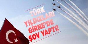 Türk Yıldızları, Girne semalarında gösteri düzenledi