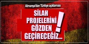 Almanya'dan yeni Türkiye açıklaması: Silah projelerini gözden geçireceğiz