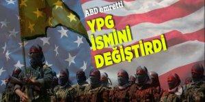 ABD emretti: YPG ismini değiştirdi