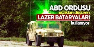 ABD ordusu uçakları düşüren lazer bataryaları kullanıyor