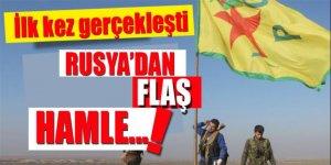 Rusya'dan Suriye hamlesi! İlk kez gerçekleşti