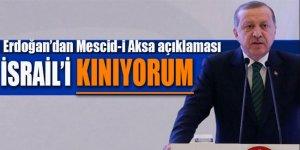 Erdoğan'dan Mescid'i Aksa çağrısı!