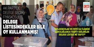 AK Parti'de delege seçimi fiyaskosu: Delege listesindekiler bile oy kullanmamış!