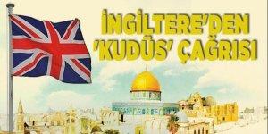 İngiltere'den 'Kudüs' çağrısı