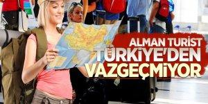 Alman turistlerin Türkiye sevdası bitmiyor