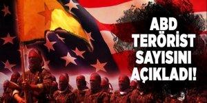 ABD terörist sayısını açıkladı!