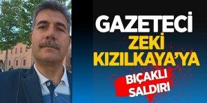 Adana'da FETÖ ve çetelerin korkulu rüyası Gazeteci Zeki Kızılkaya'ya bıçaklı saldırı