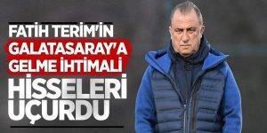 Fatih Terim'in Galatasaray'a gelme ihtimali hisseleri uçurdu