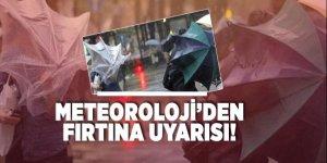 Meteoroloji'den Akdeniz için fırtına uyarısı