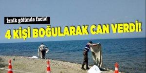 İznik Gölü'nde 4 kişi hayatını kaybetti