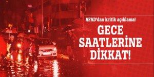 AFAD'dan kritik açıklama!
