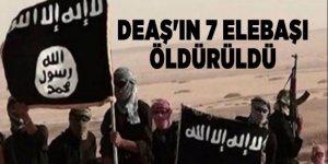 DEAŞ'ın 7 elebaşı öldürüldü