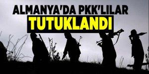 Almanya'da 2 PKK'lı tutuklandı